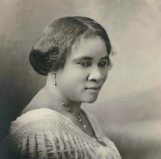 La première femme millionnaire