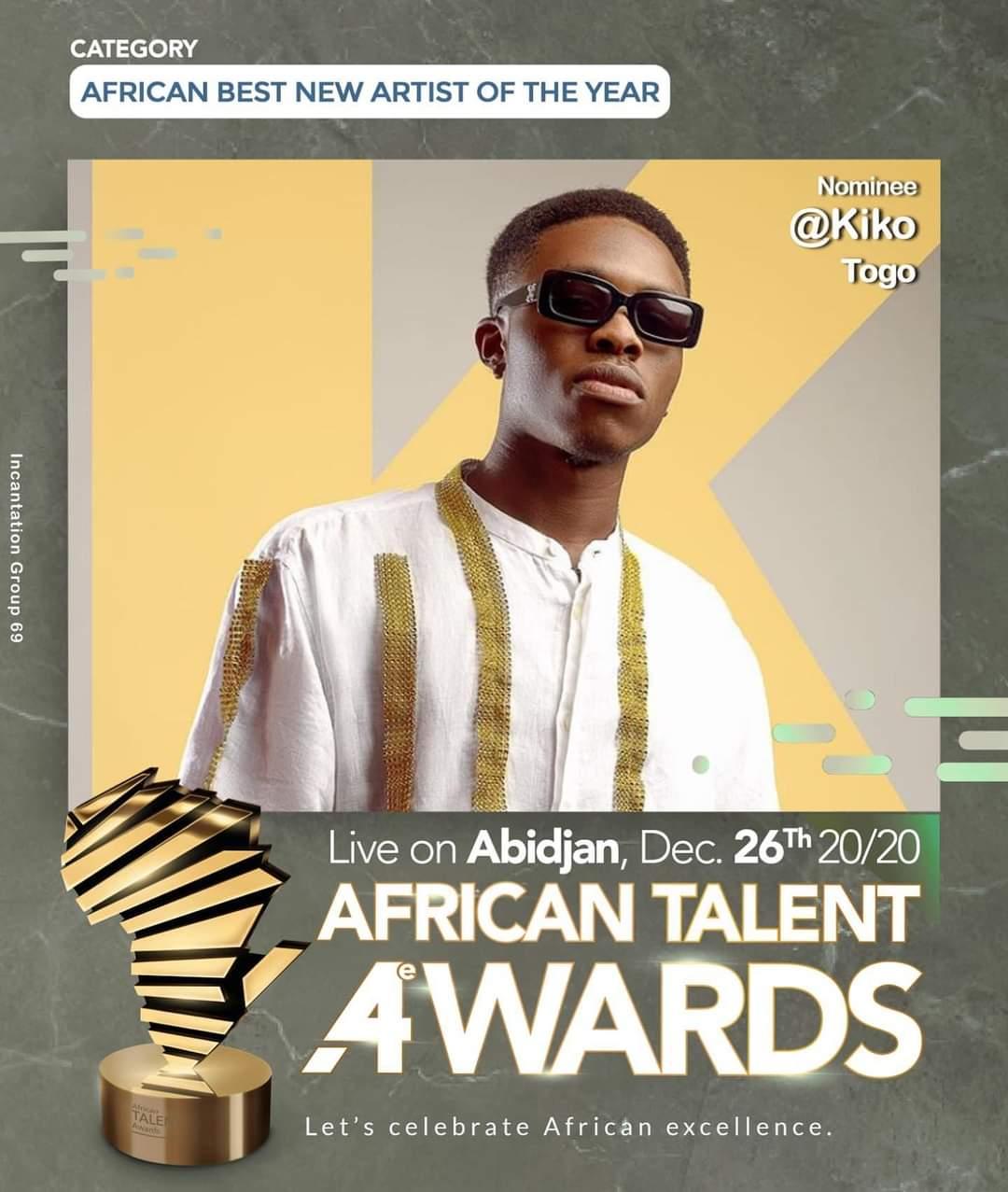 Santrinos Raphaël et Kiko, nominés pour cette nouvelle édition Les deux grands artistes de la musique Lover au Togo ont réussi à impressionner le comité d'organisation des African Talent Awards.