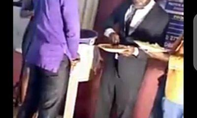Vidéo de pasteur choquante