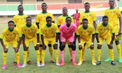 Disqualification du Togo au Ufoa B U-17