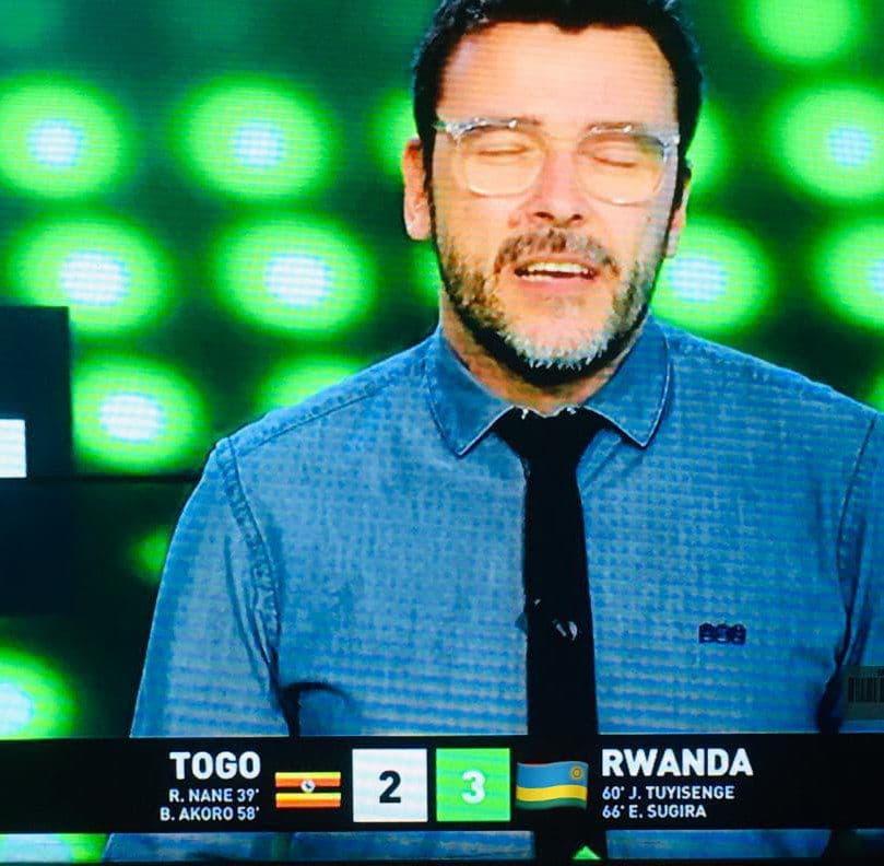 Manque de respect drapeau togo