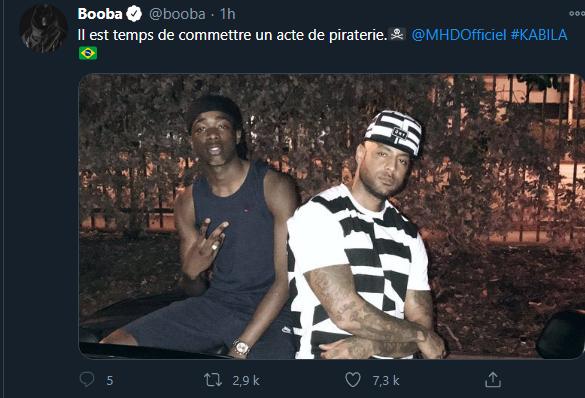 Booba et MHD