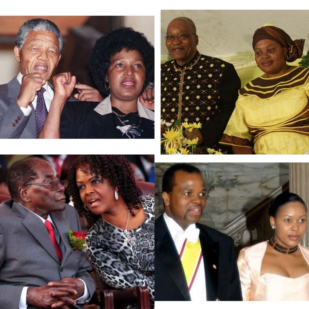 Présidents trompés par leurs femmes