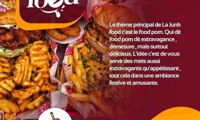 La Junk Food : le nouvel évènement culinaire qui déchire grave à Lomé