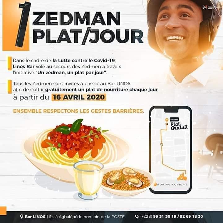 Linos, l'artiste qui a offert plus de 15000 plats aux zedmans pendant la crise, se confie à Gnadoe Magazine