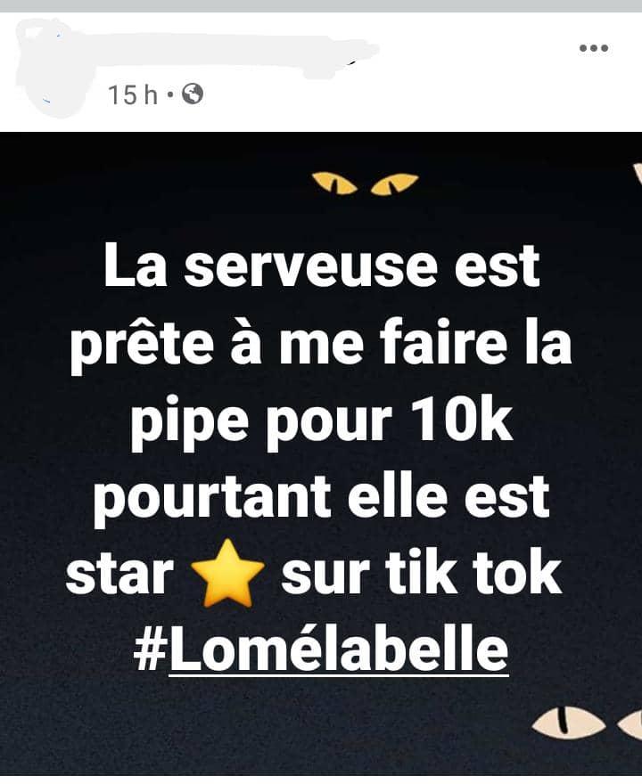 Togo : une star sur TikTok accepte faire une pipe à 10.000 francs dans un bar