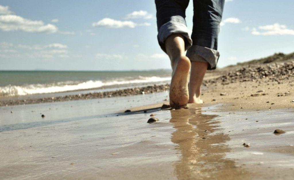 marcher pieds peut augmenter la taille