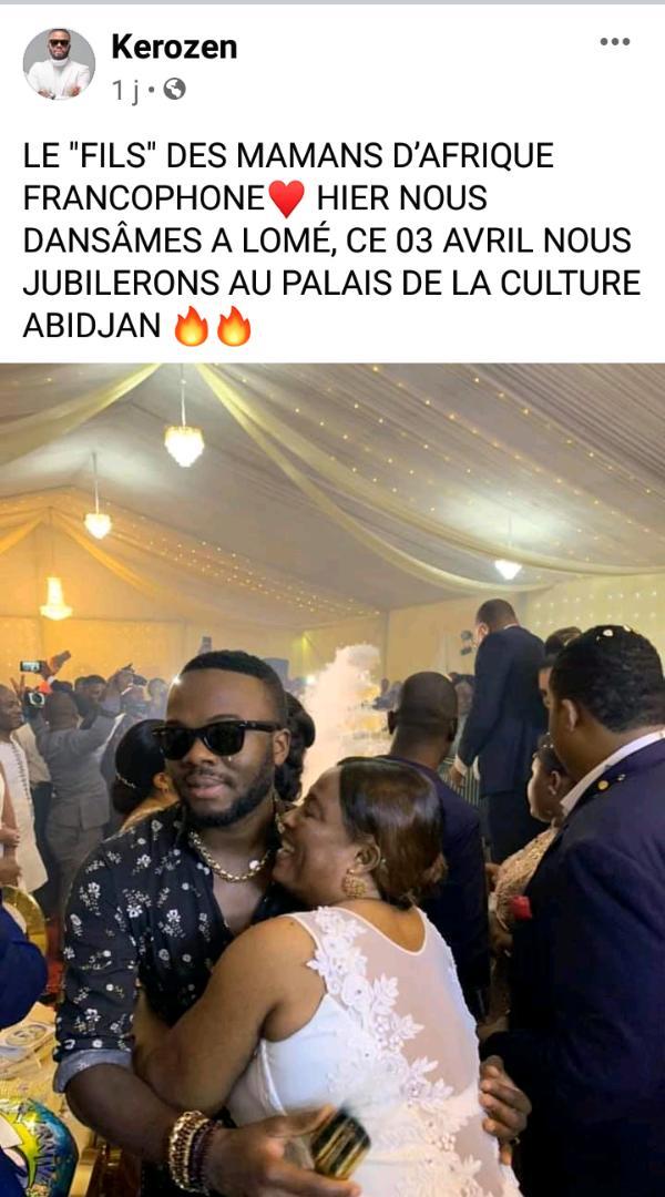 Concert suspendus à Lomé : Kerozen invite la population a se déplacer pour la Côte d'Ivoire