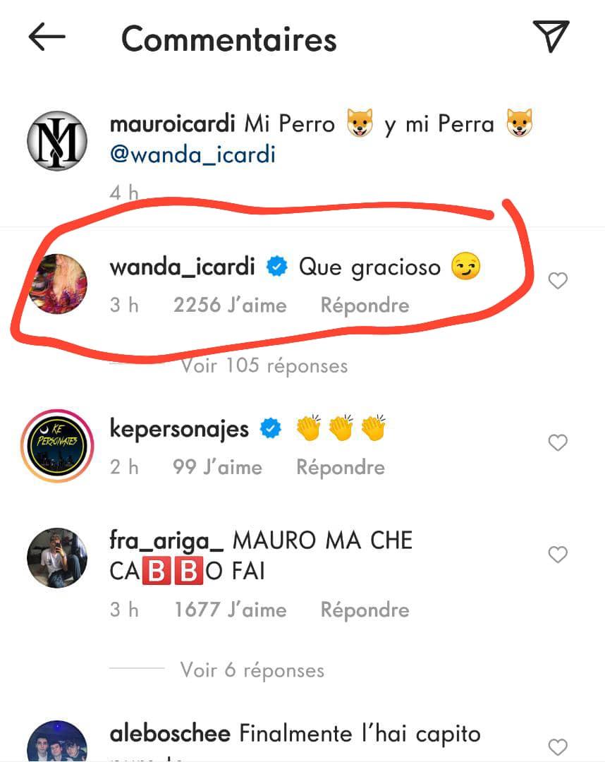 La star du PSG, Mauro Icardi, traite sa femme de chienne, les fans sont choqués