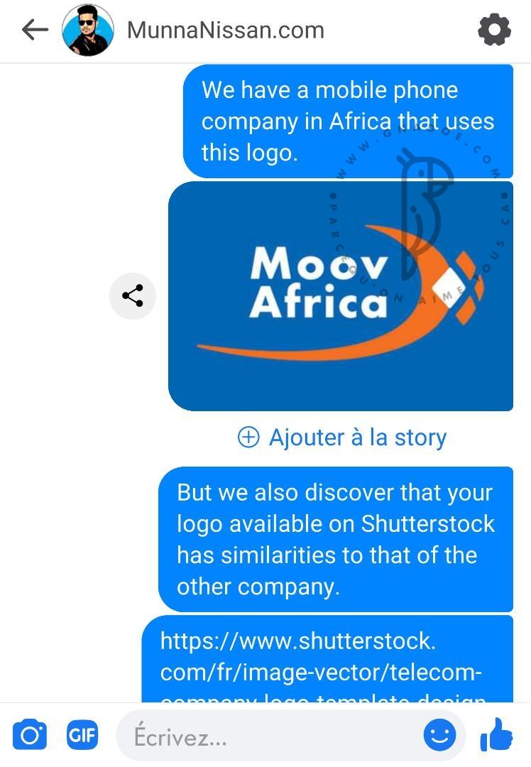 Moov Africa/Affaire plagiat: le concepteur du logo polémique se confie à Gnadoe Magazine