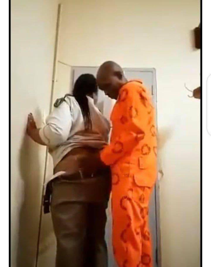 gardienne de prison détenu vidéo