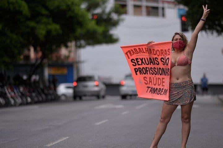 Covid-19 grève Travailleuses de sexe