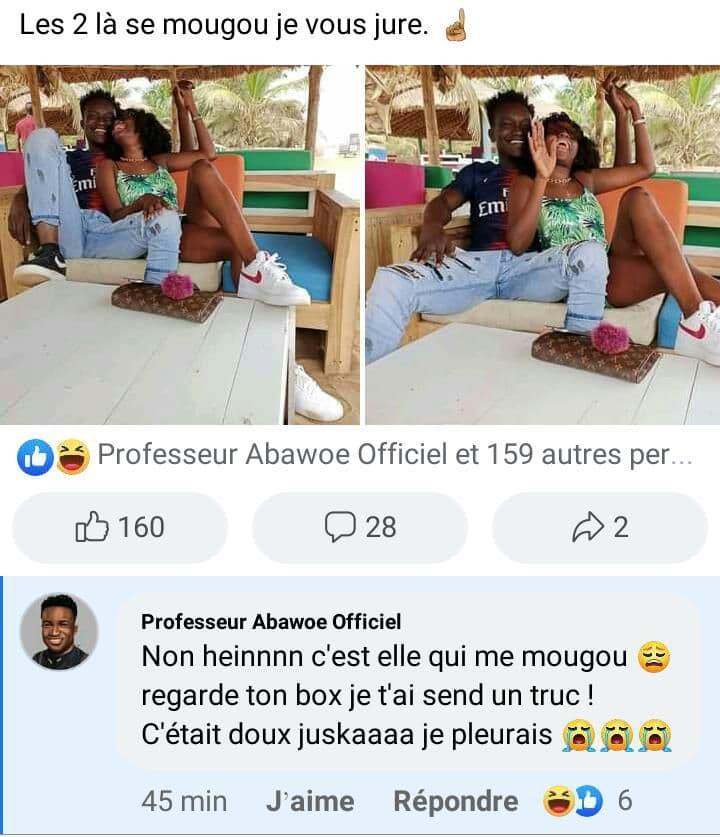 Le Professeur Abawoe et Dia'Nuella MougouPlan