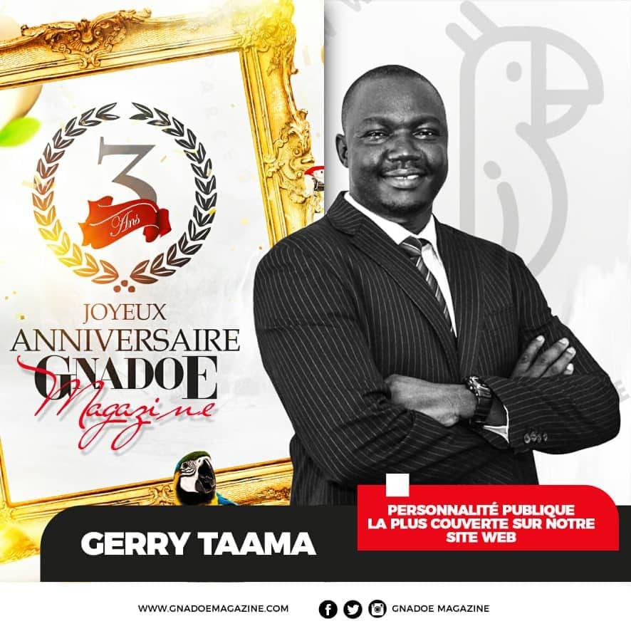 Personnalité publique Gerry Taama