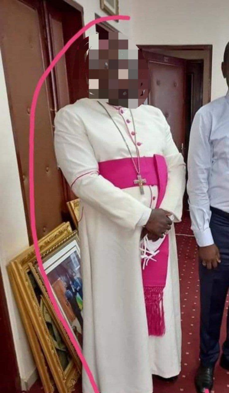 Prêtre camerounais