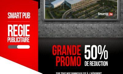 Smart Pub : optimisez votre visibilité sur le site de l'Aéroport International GNASSIMGBE Eyadema et profitez de 50 % de réduction