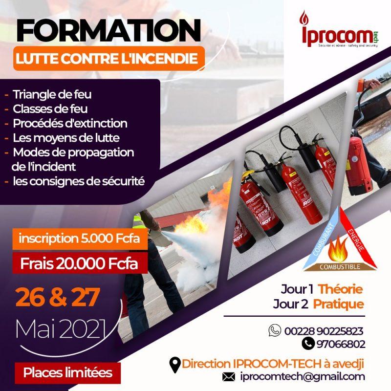 IPROCOM-TECH : faites vous former en lutte contre l'incendie