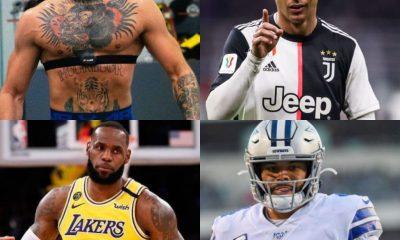 10 des athlètes les mieux payés au monde en 2021