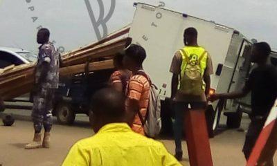 Accident à Agoe Zongo