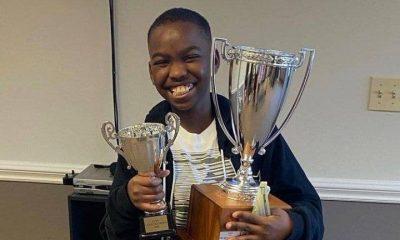 Tani Adewumi, réfugié nigérian, maître d'échecs