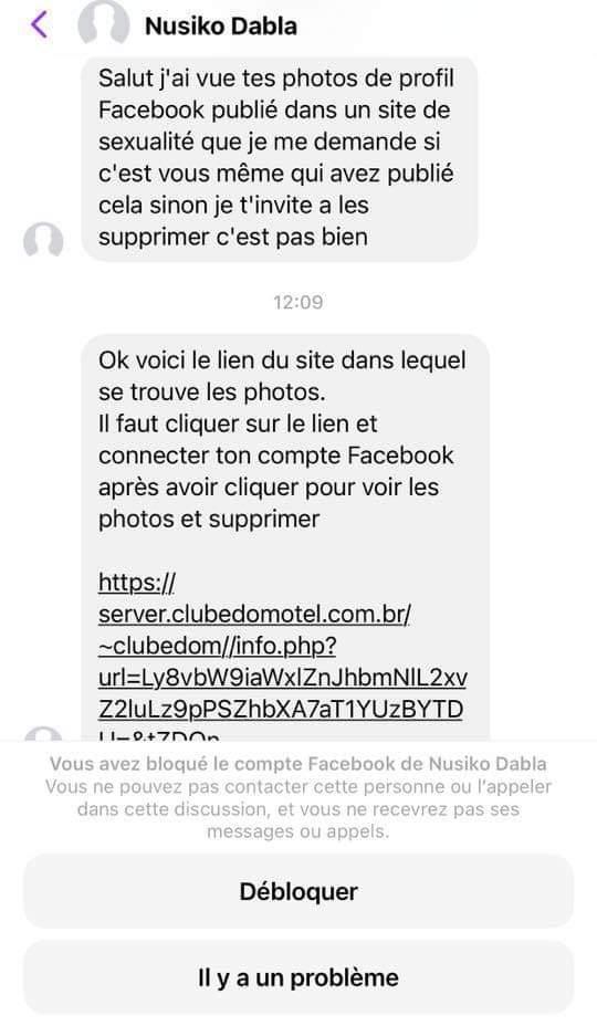 Togo : nouvelle forme de piratage de compte Facebook