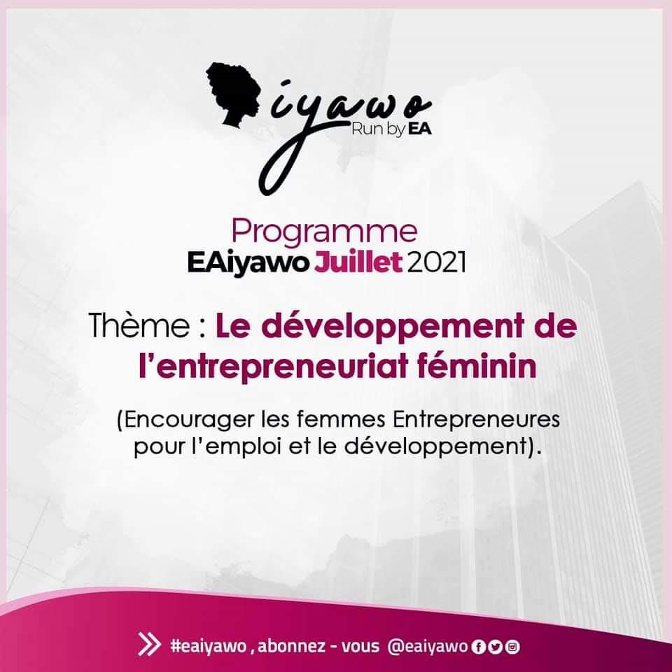 EAIyawo : bilan du mois de juin et nouveauté de juillet 2021