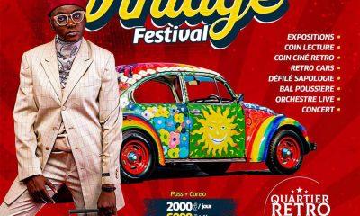 African Vintage Festival: un spécial retro dans les années 1960-2000